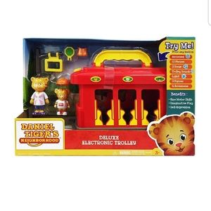 Daniel tigers deluxe electric trolley